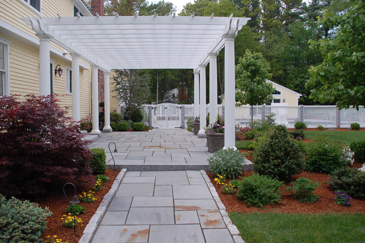 Bluestone Walkway and Patio, Westford