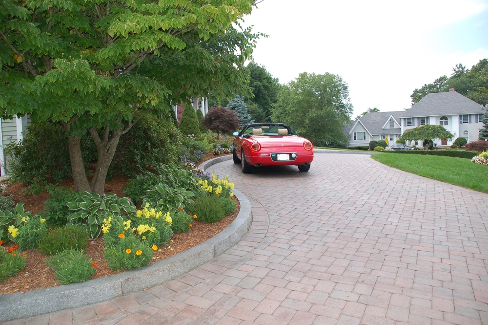 Paver Driveway, Andover