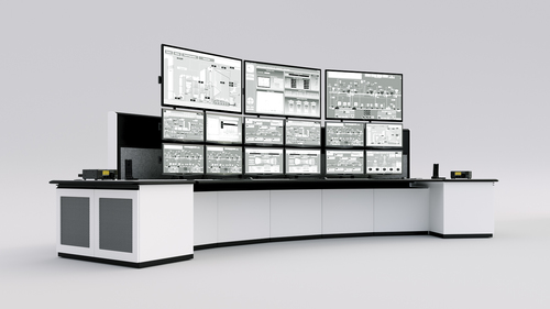 Control Room Furniture Property tresco consoles control room console design manufacturer | command