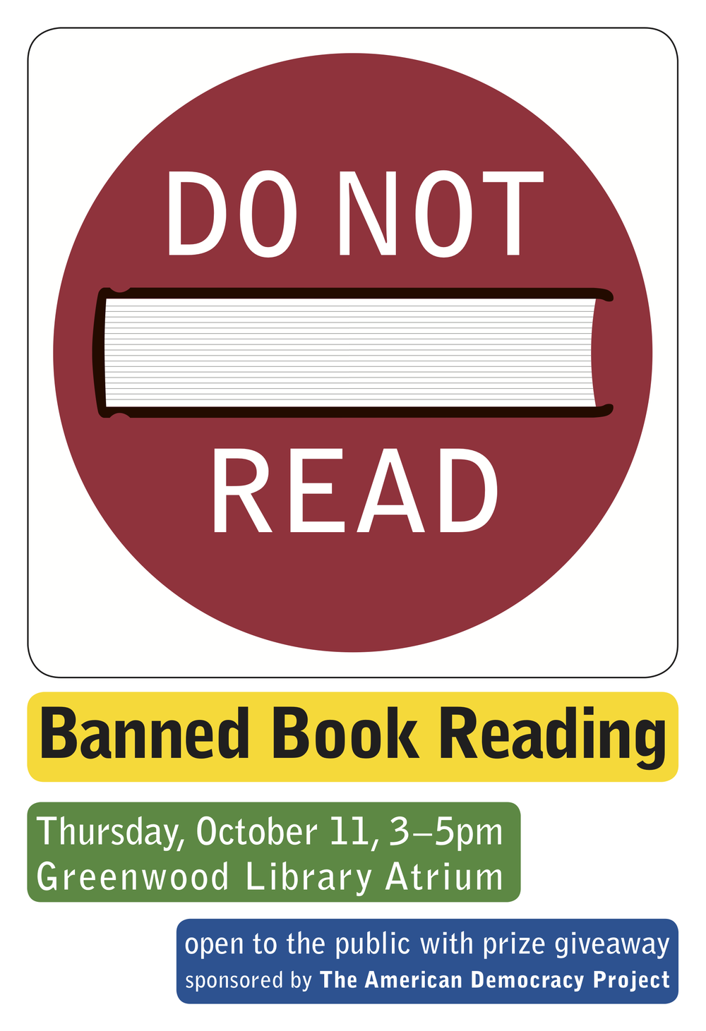 Banned Book Reading
