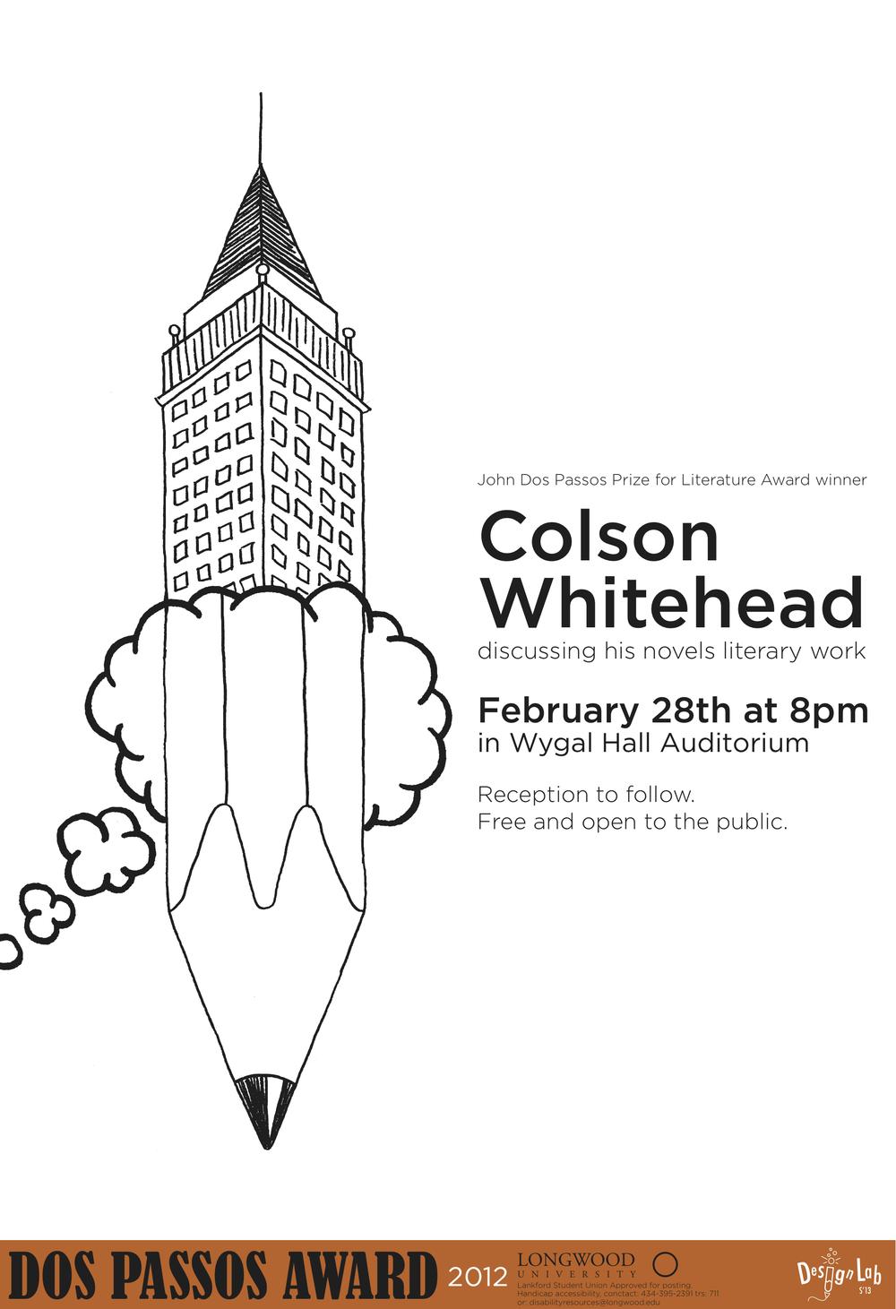 Dos Passos Poster: Colson Whitehead
