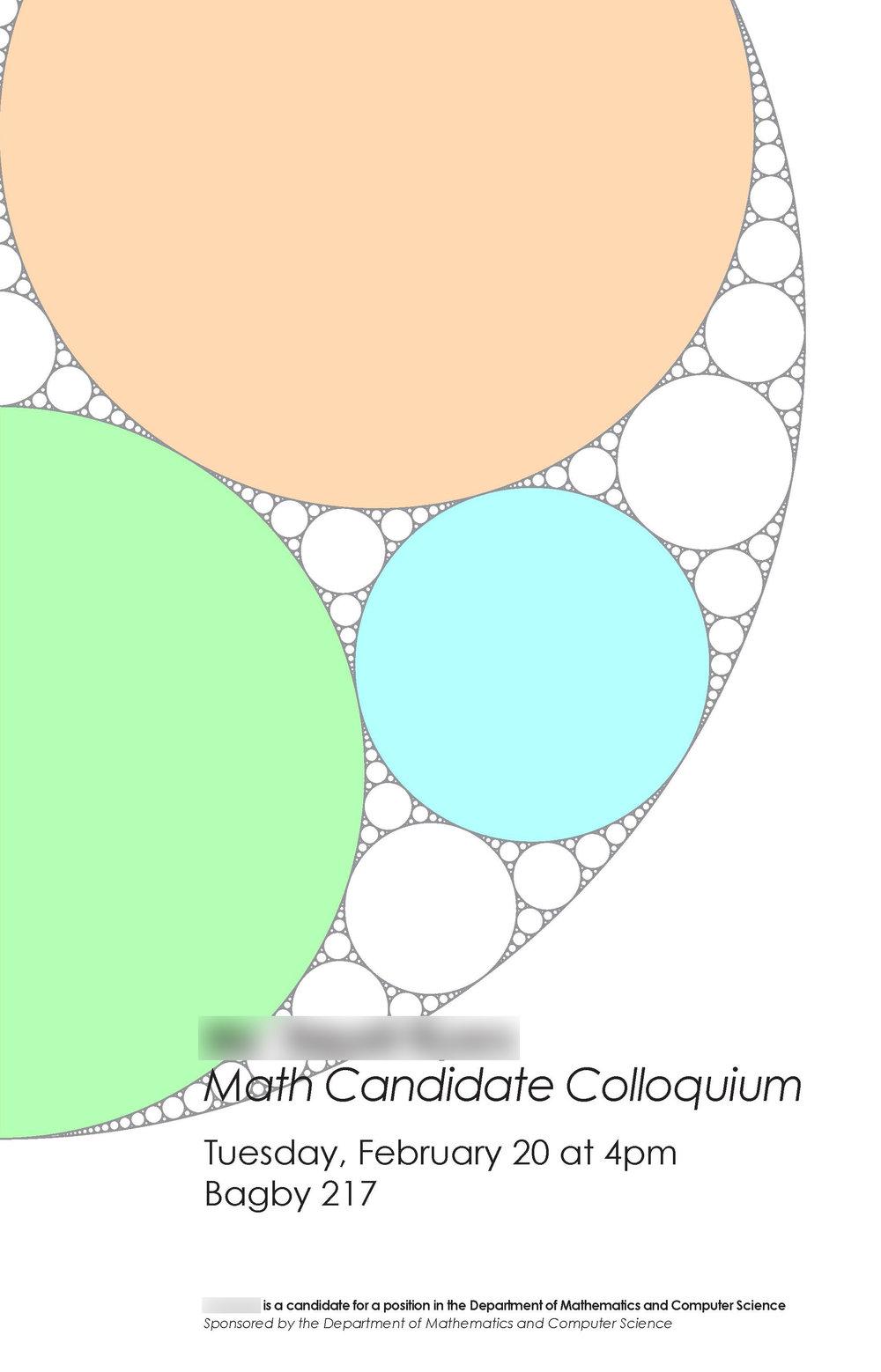 Math Candidate 3