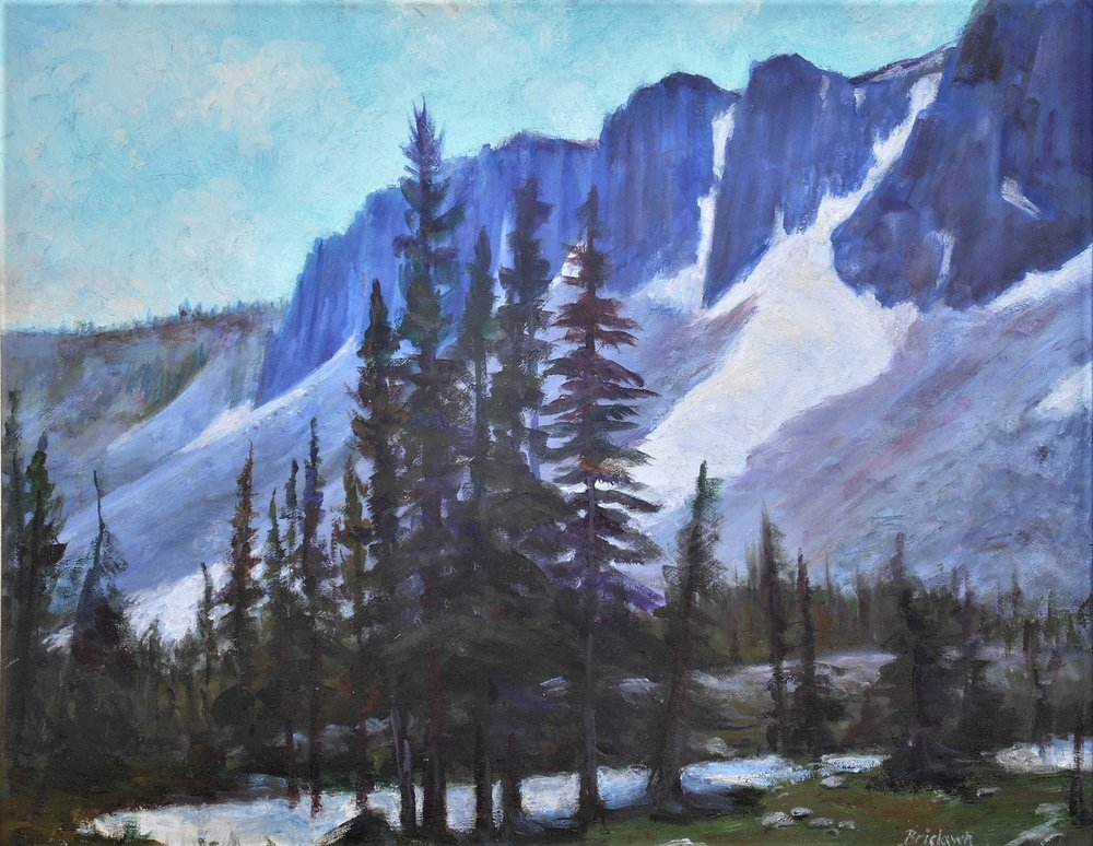 """Sentinels of the Snowies"" by Mack Brislawn"