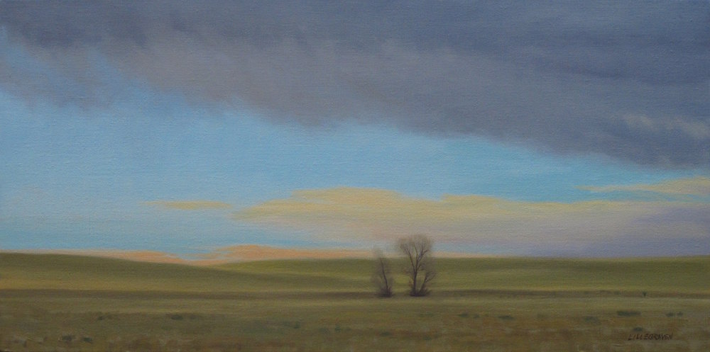 """Anticipation of Rain"" original painting by Linda Lillegraven"
