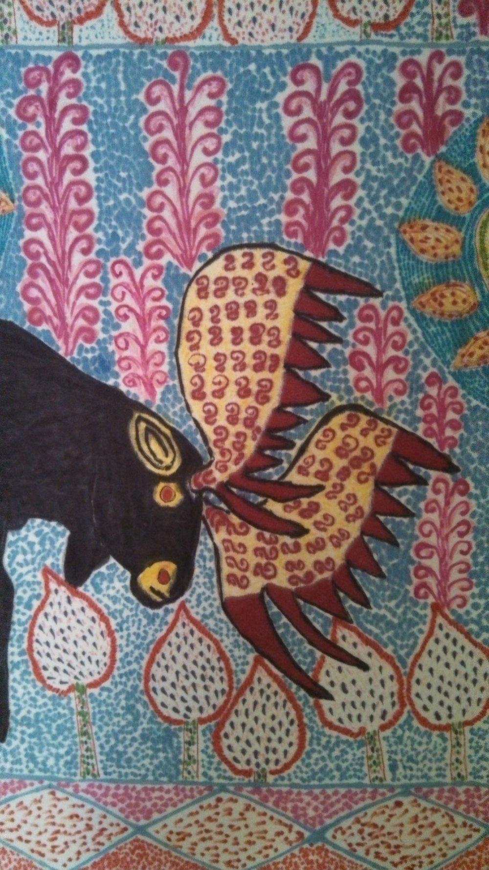 Peruvian folk art by Alberto Alcantara
