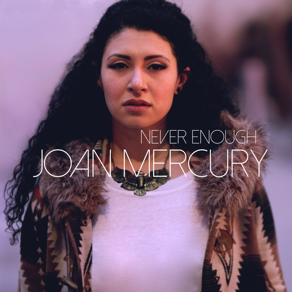 "joan mercury's first original release ""never Enough"" out now!!!"