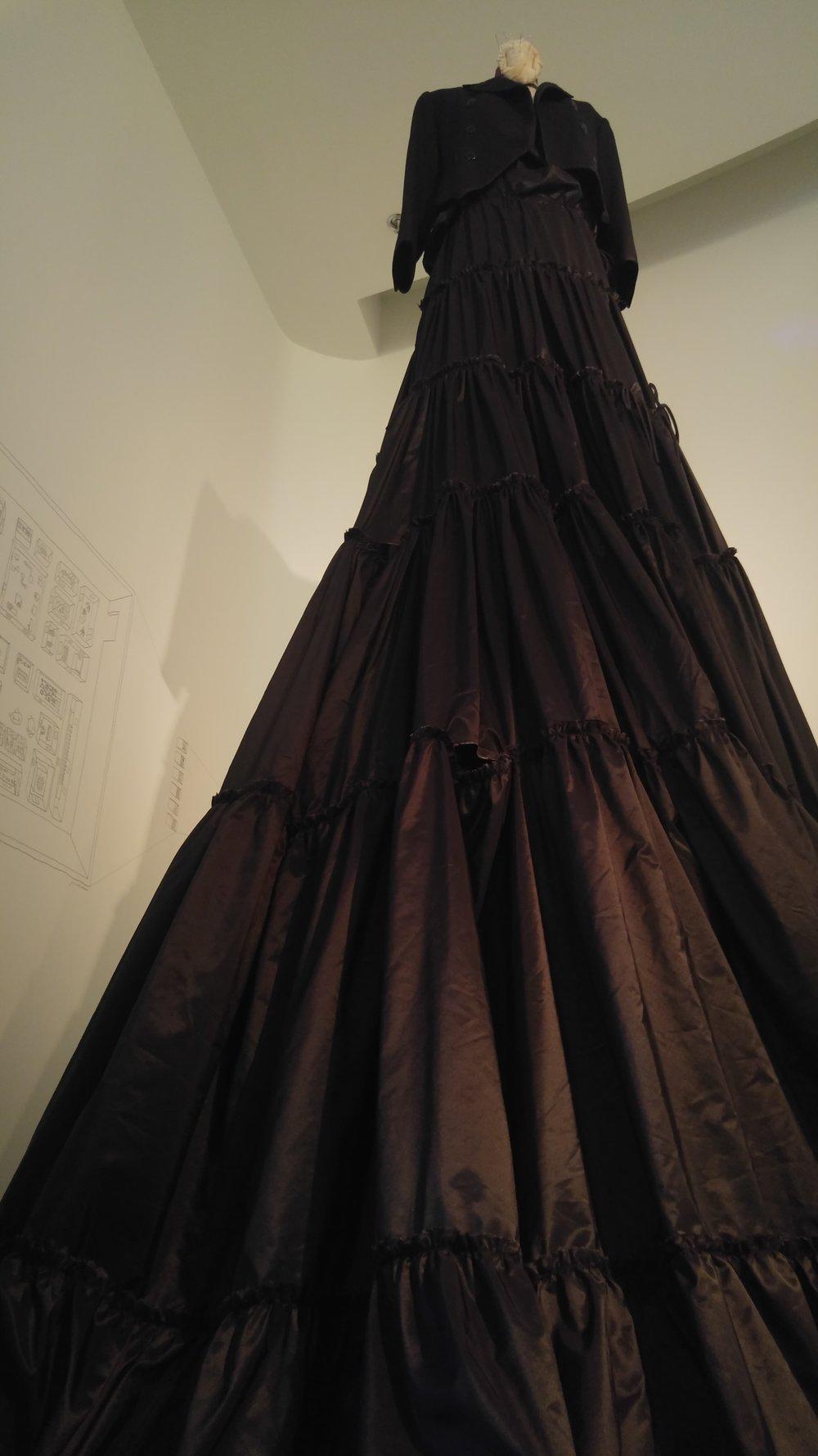 """pirat skirt"" Yaniv persy 2015-2017 nfinished design for a bespoke)"