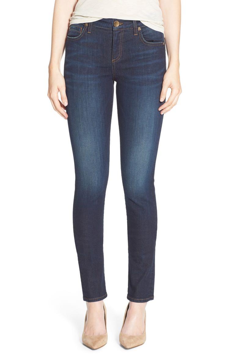 4. Diana Stretch Skinny Jeans