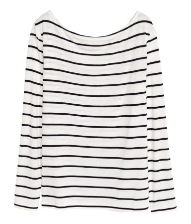 1. HM Striped Boatneck
