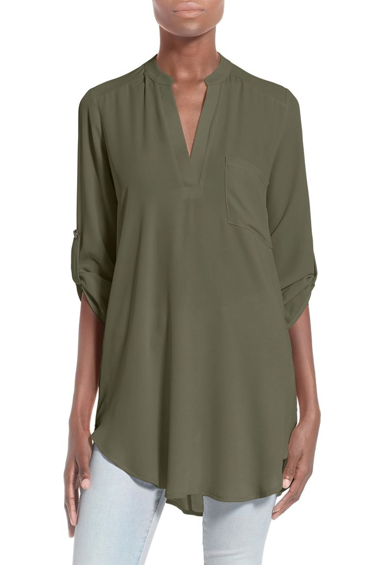 10. Lush Perfect Roll Tab Tunic