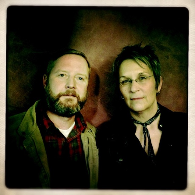Mary Gauthier with Veteran and Co-Writer Jamie Trent