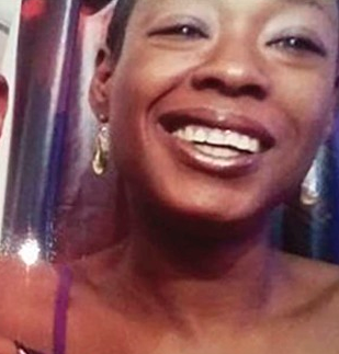 Tanya Fletcher Robinson, 44, was stabbed in the neck by a neighbor during an argument on Valentine's Day outside the residence she shared with her husband. The suspect is in jail.