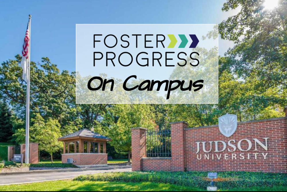 Foster Progress on Judson Campus