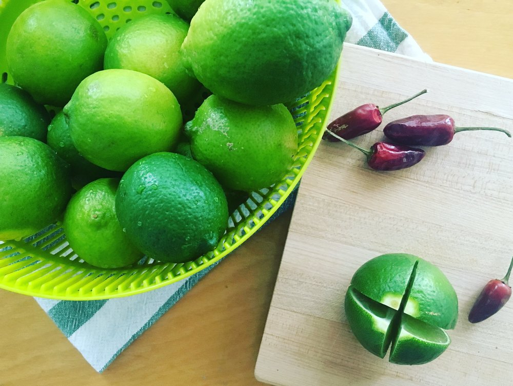 Recipe: Preserved Chili Limes
