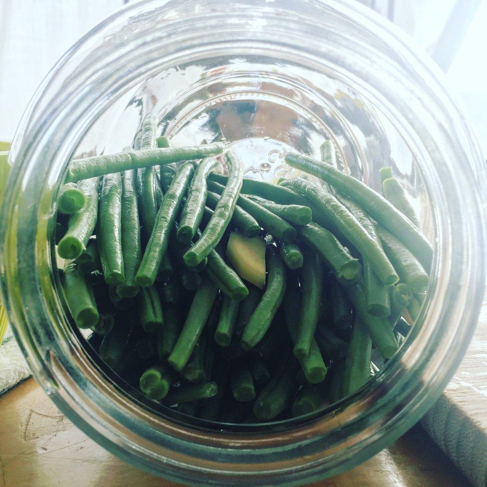 Sideloading Green Beans