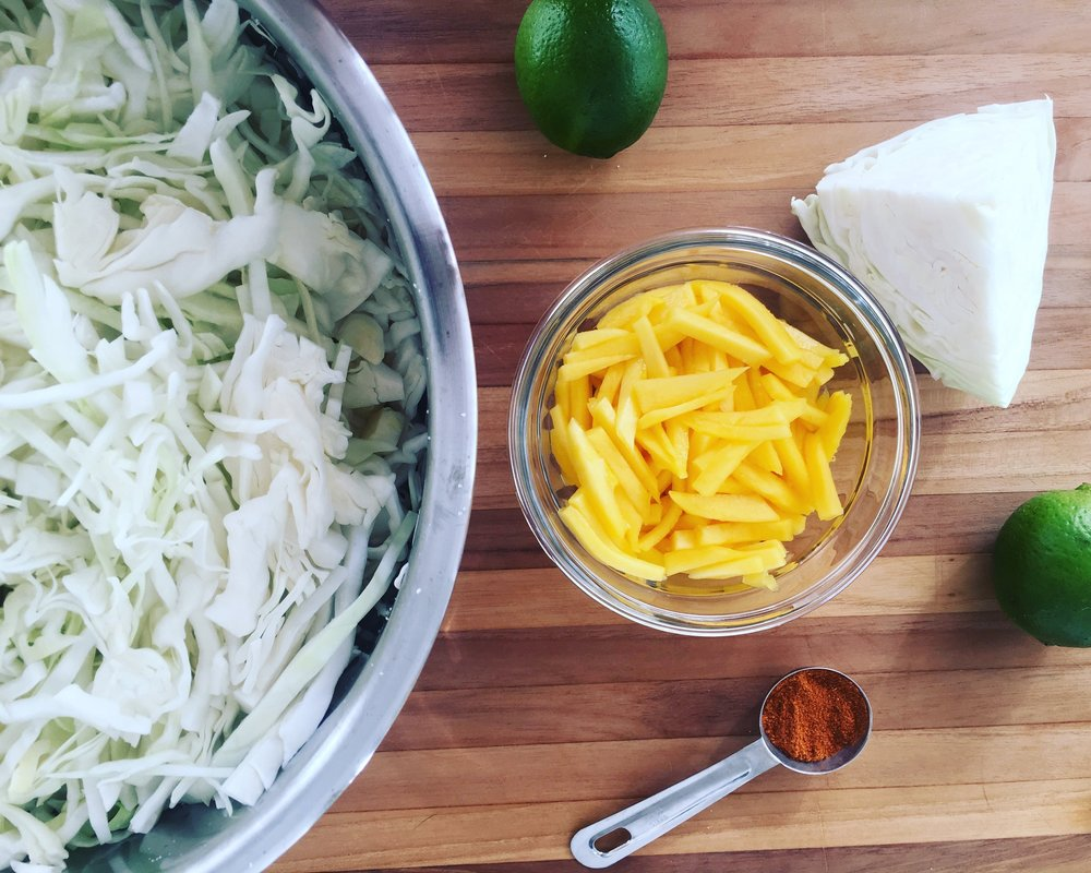 Mango Chili Lime Kraut