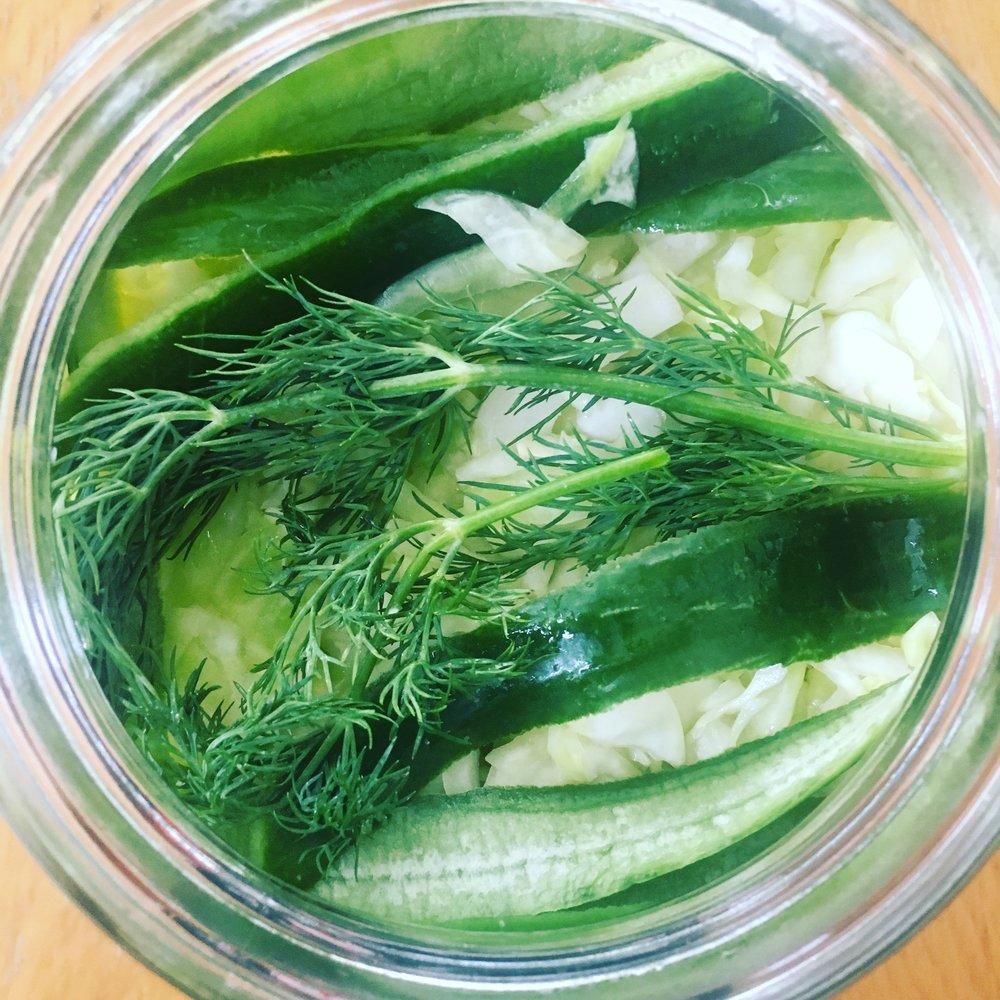 Recipe: Dill Pickle Kraut