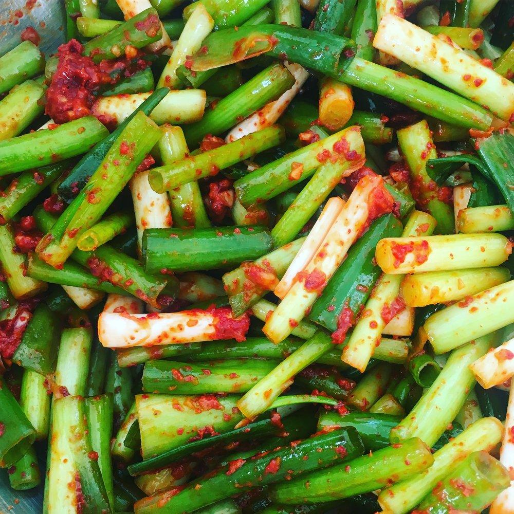 Scallion Kimchi
