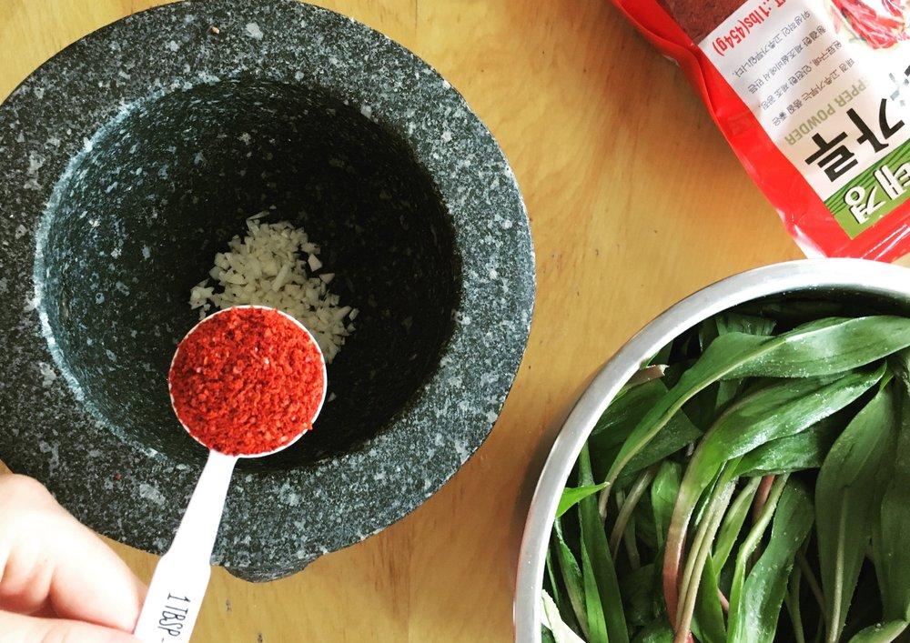 Recipe: Ramp Kimchi