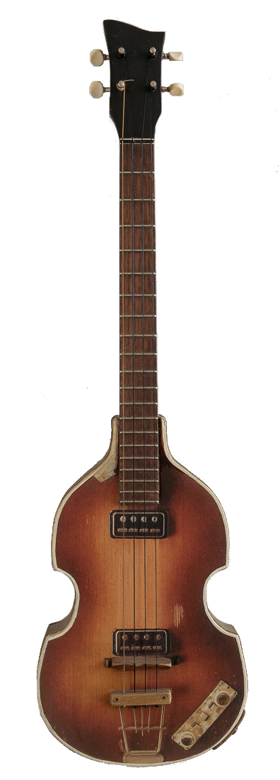 Paul McCartney Inspired Baritone Ukulele - Model