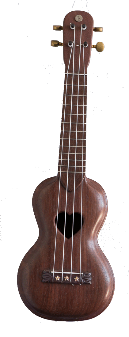 Purple Heart Ukulele