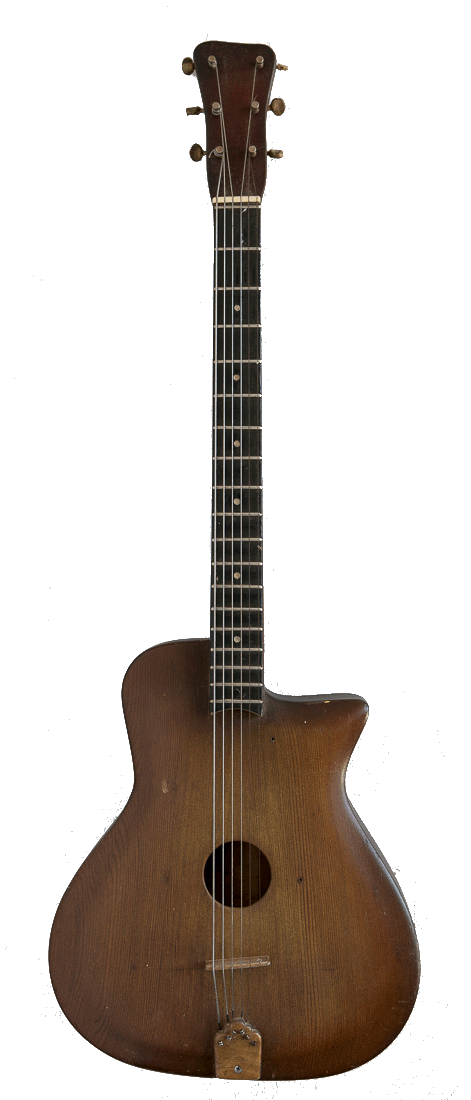 Bowable Six String Guitar