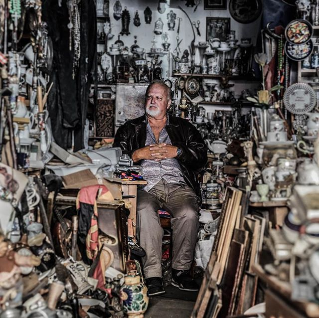 """A Man in the Antiquities Store"" by Ian #portrait"