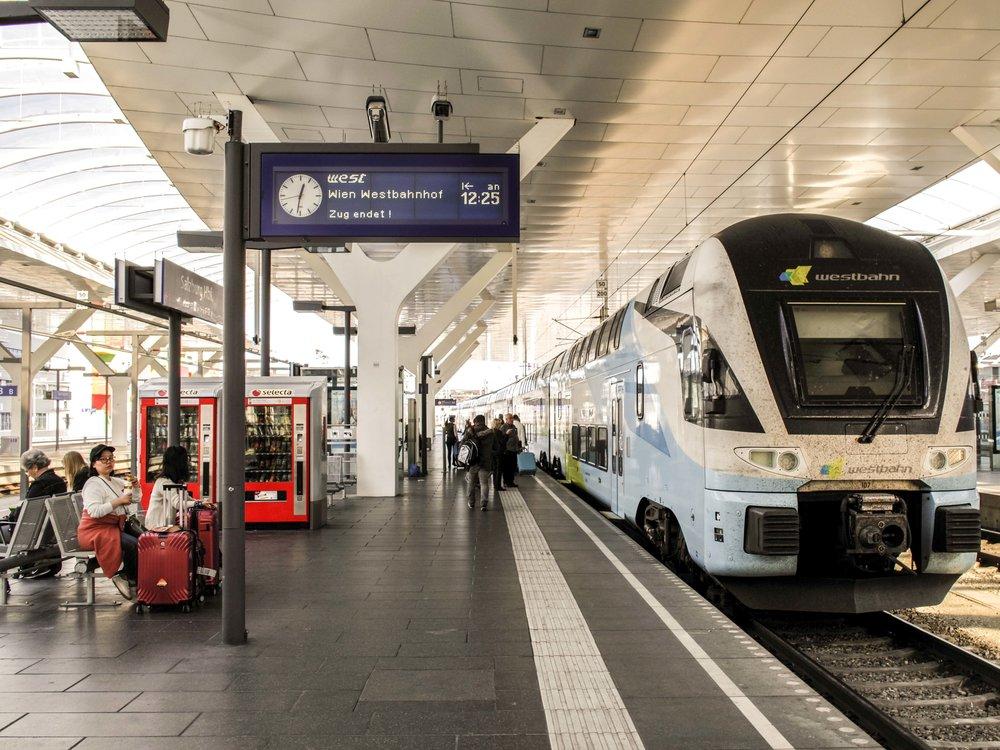 Salzburg main station