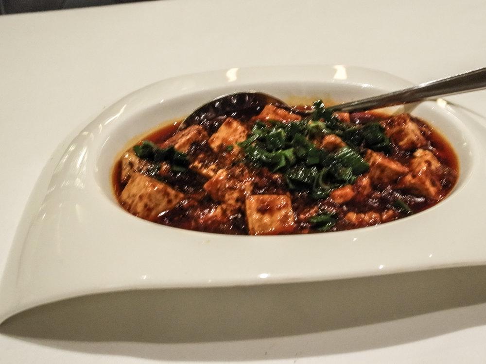 the Yan Ting - mapo tofu