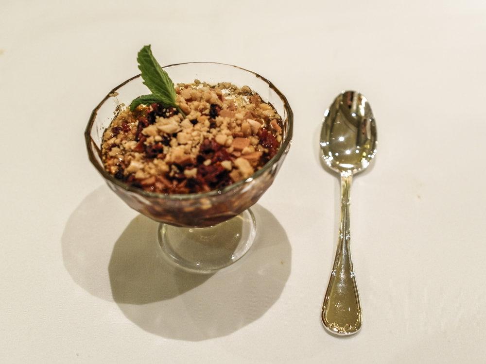 the Yan Ting - chestnuts dessert