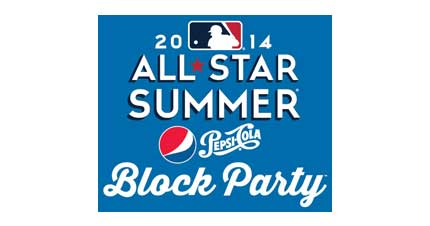 MLB Block Party Logo