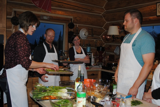 Cooking classes are a great date night!