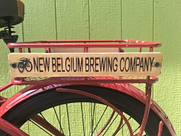 New Belgium cruiser-Remington Flats Hotel