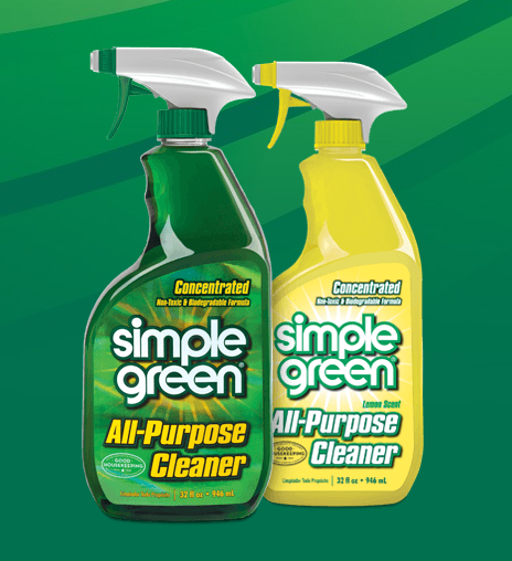 We are committed to doing our part to protect the planet - For more than 35 years, Simple Green® has been producing environmentally friendly cleaning products that are non-toxic and biodegradable. We also use simple vinegar and water to clean our floors, so you don't have to worry about the