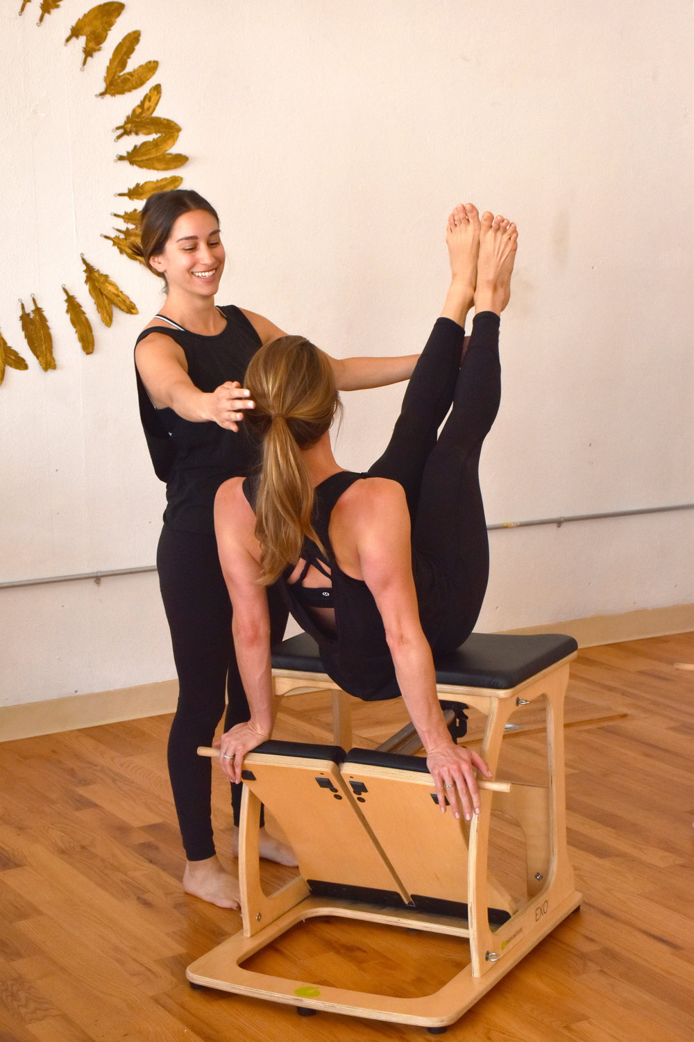 pilates, teacher, reformer, chair, fitness, denver, stretching