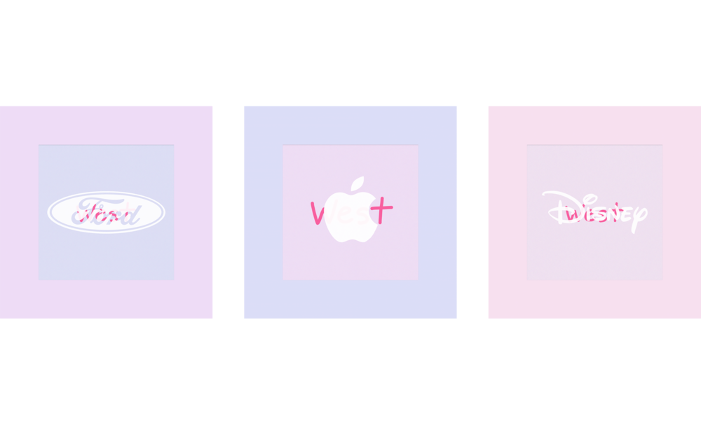 Ford, Apple, Disney, West, 2017