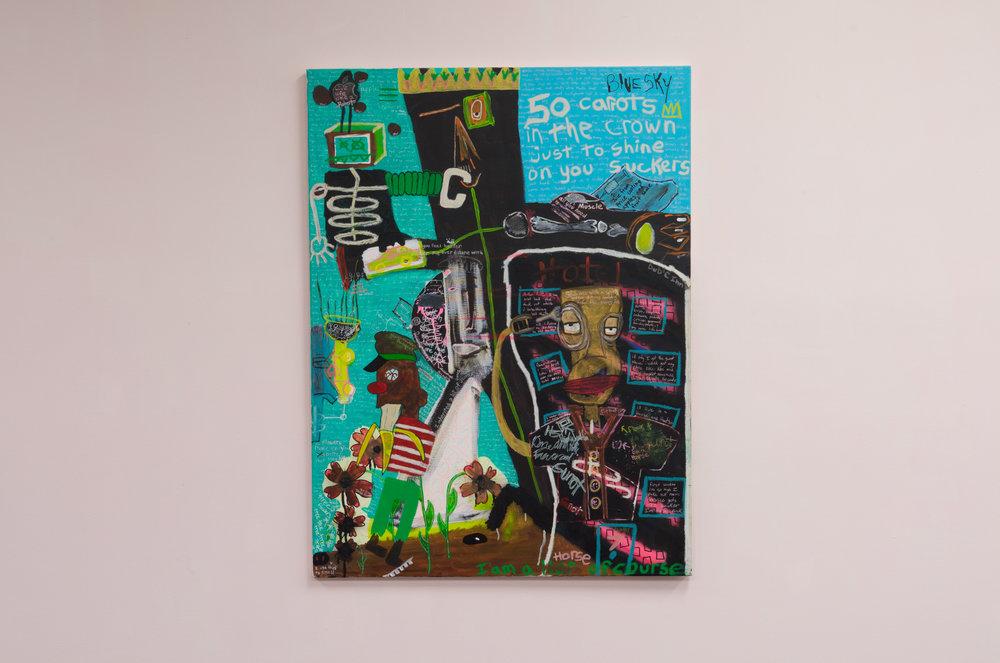 i copied you basquiat, 2005