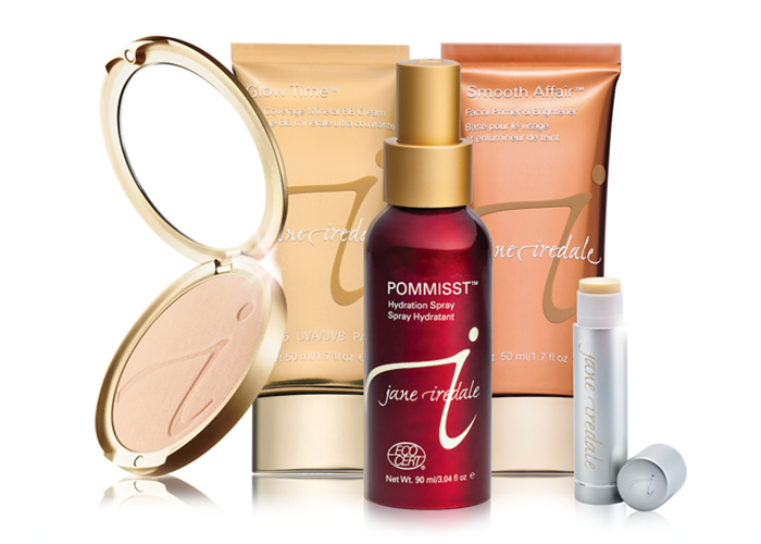 JANE IREDALE   In 1994, Jane Iredale created a new concept in beauty by combining skin care with makeup. Originally sold only to physicians and estheticians, her cosmetics are the gold standard in mineral makeup-a line so safe and beneficial for your skin that it's recommended by plastic surgeons and dermatologists all over the world. Seven jane iredale products have earned the Skin Cancer Foundation Seal of Recommendation. To earn this seal, a manufacturer must provide scientific data showing that its products sufficiently and safely aid in the prevention of sun-induced damage to the skin. This is skin care makeup!
