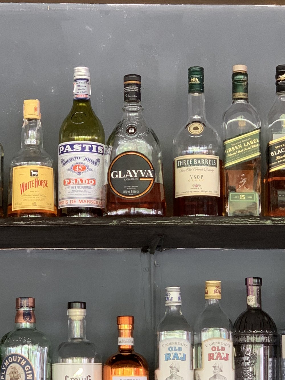 Liquors from around the world