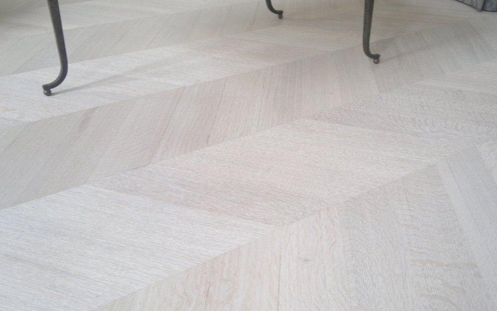 Scandinavian style Oak Parquet floor