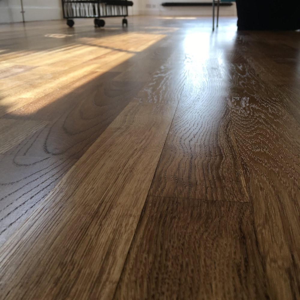 Hardwax oiled oak  floor