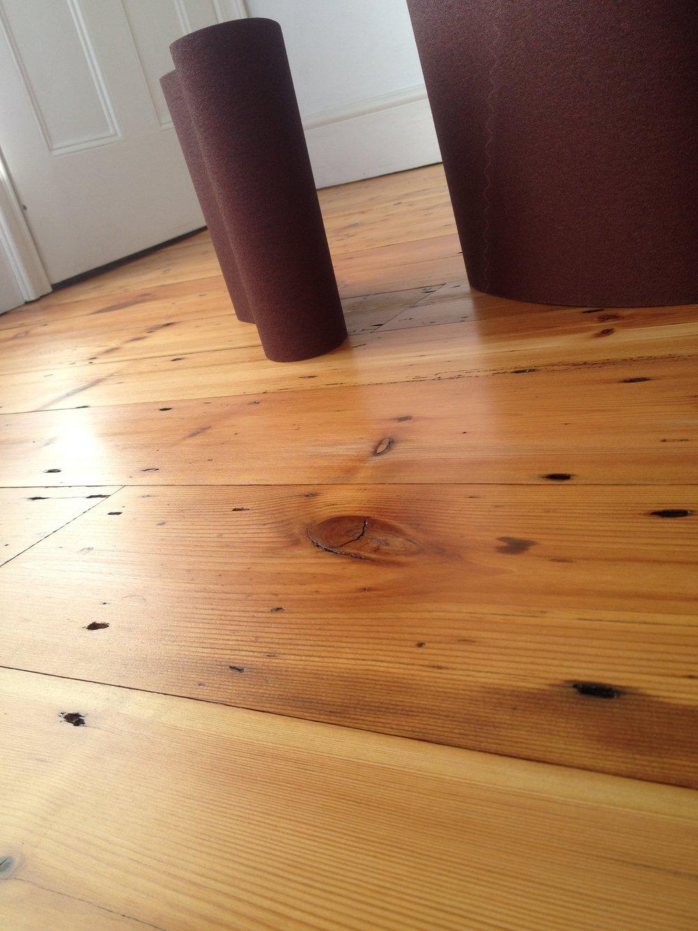 Victorian pine oiled floor