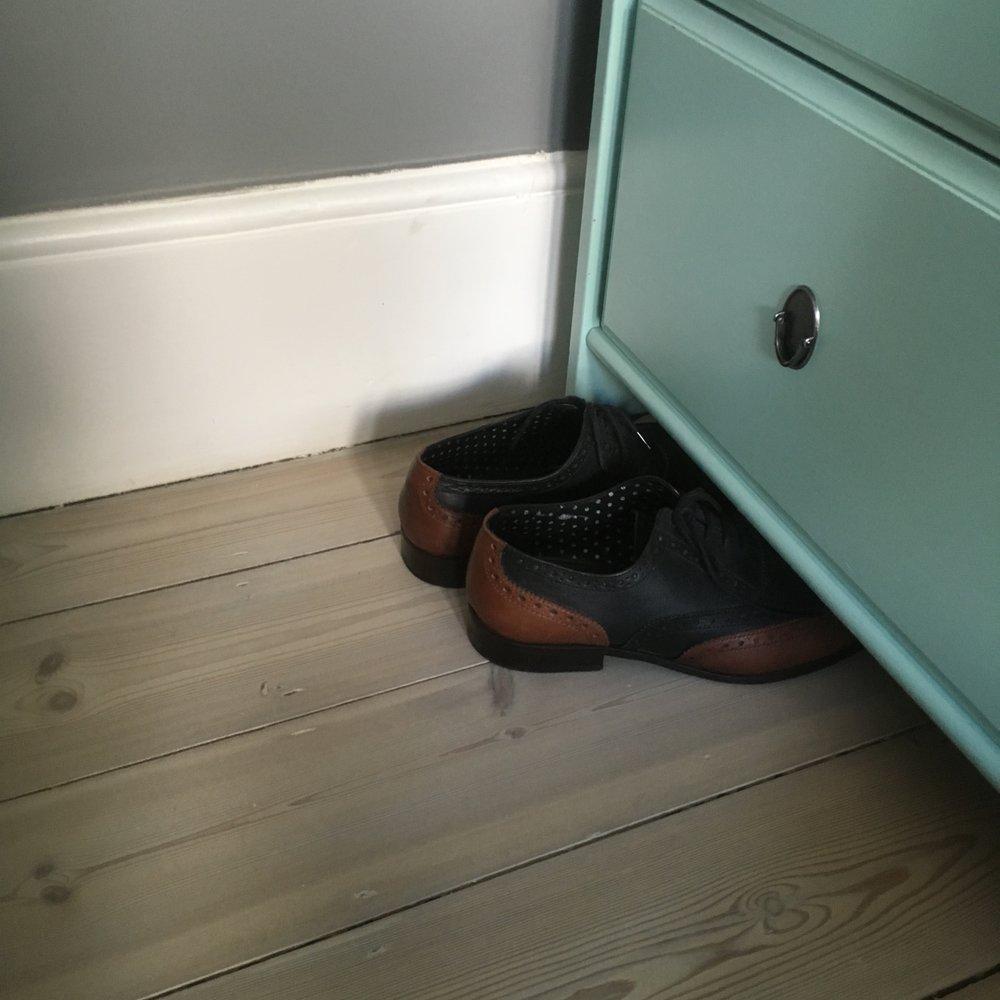 Pine bleached floor