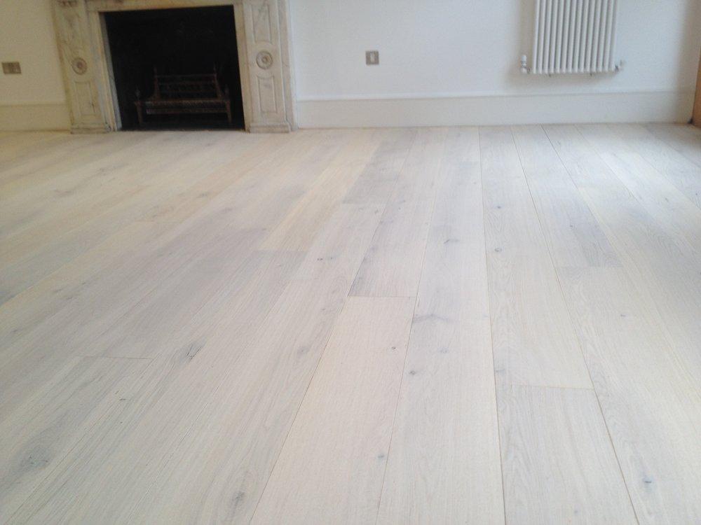 Oak floor sanding