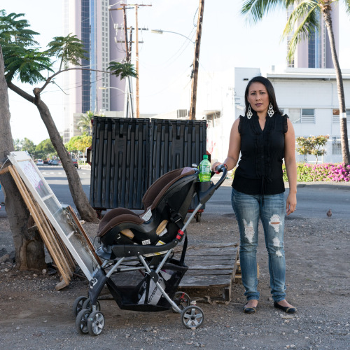 People In Paradise: A series of street portraits exploring everyday struggles in Hawaii