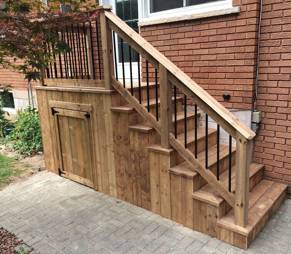 Projects back patio door landing and staircase eventelaan Images