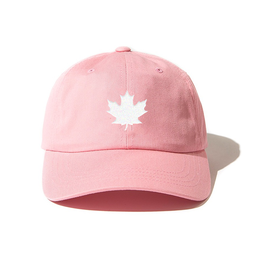 THE MAPLE LEAF CAP (PINK)