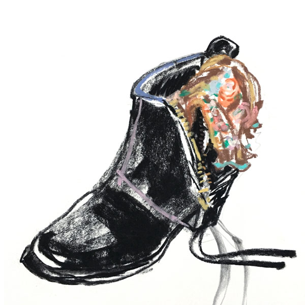 Janice Chuang - Acne Boots
