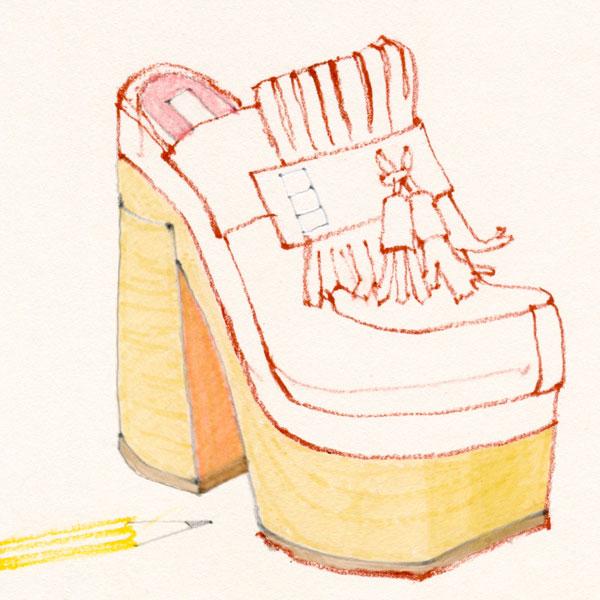 Janice Chuang - Rochas Shoes