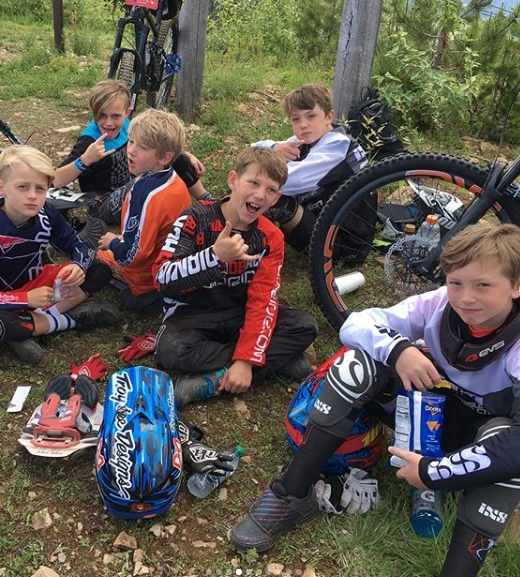 Fluidride Kids Camp For Mountain Biking